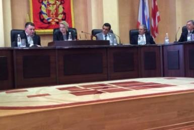 delegazione italiana in crimea