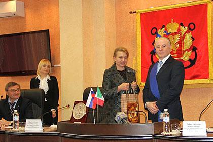 Итальянская провинция установила побратимство с Керчью